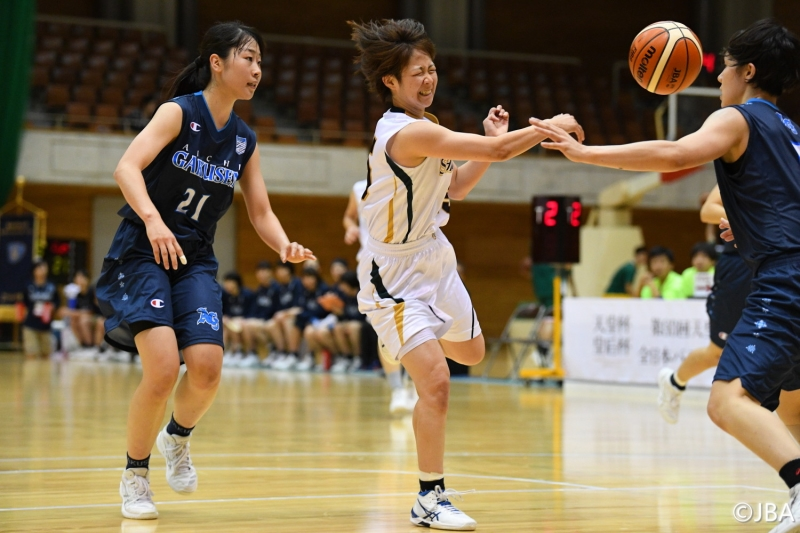 女子2回戦 滋賀銀行vs愛知学泉大学 5