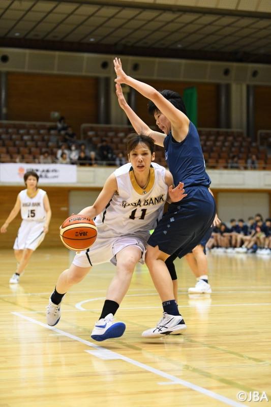 女子2回戦 滋賀銀行vs愛知学泉大学 4