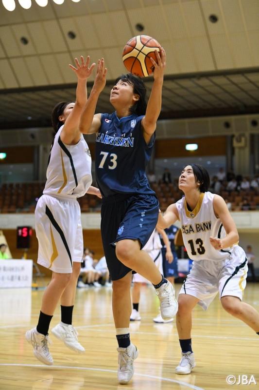 女子2回戦 滋賀銀行vs愛知学泉大学 3