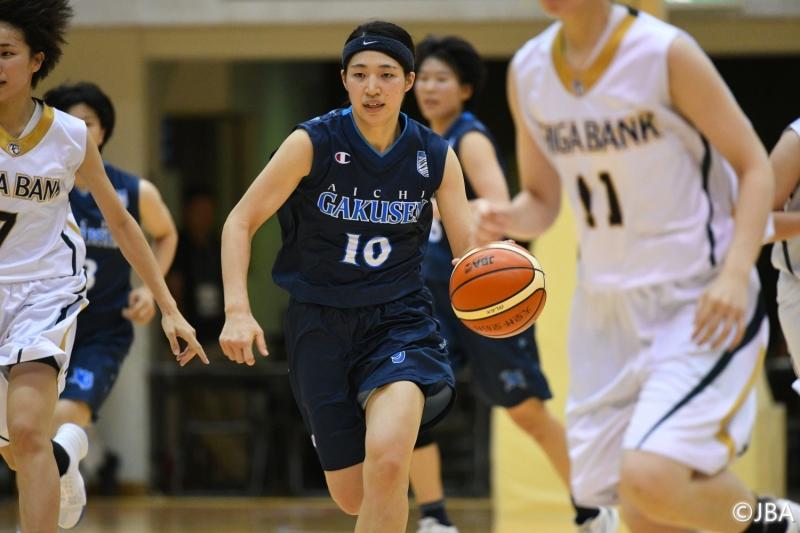 女子2回戦 滋賀銀行vs愛知学泉大学 2