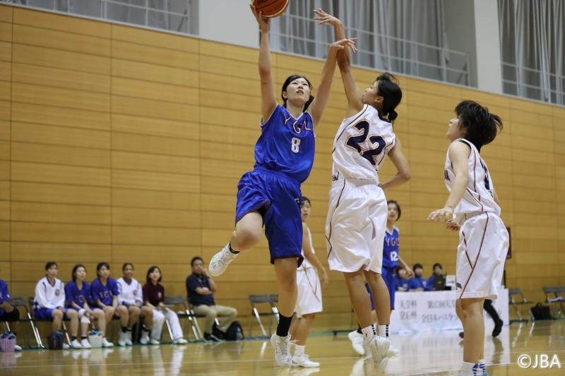 女子2回戦 福島大学vs山梨学院大学 2