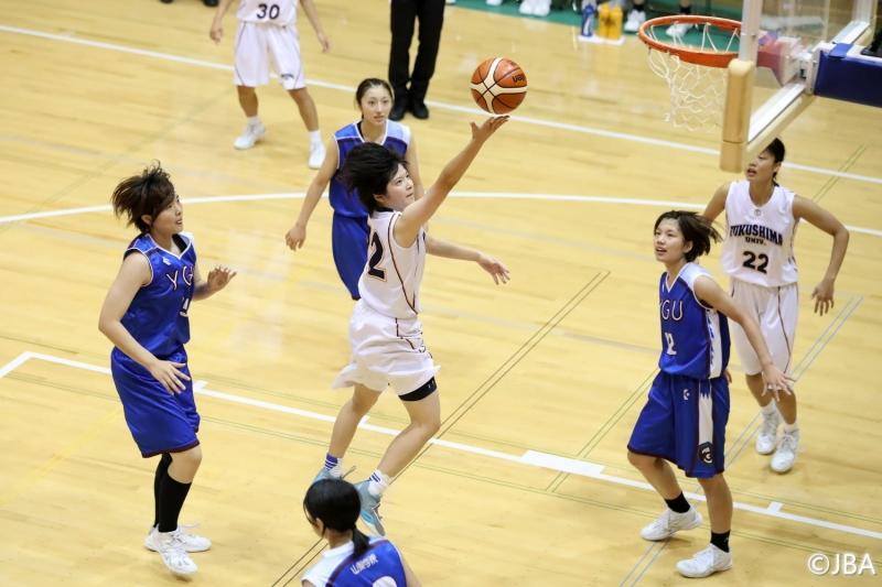 女子2回戦 福島大学vs山梨学院大学 5